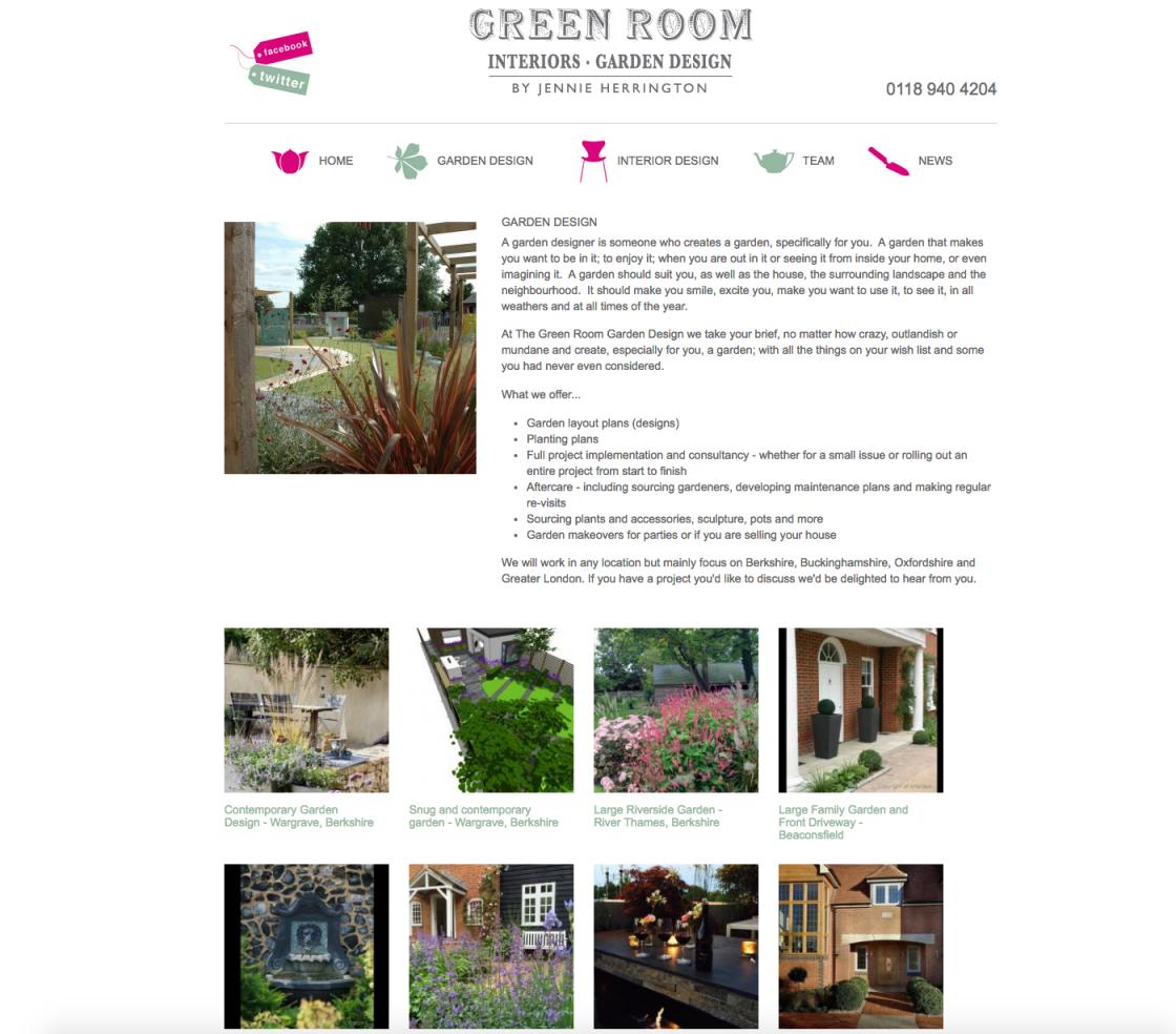 The Green Room Garden Design