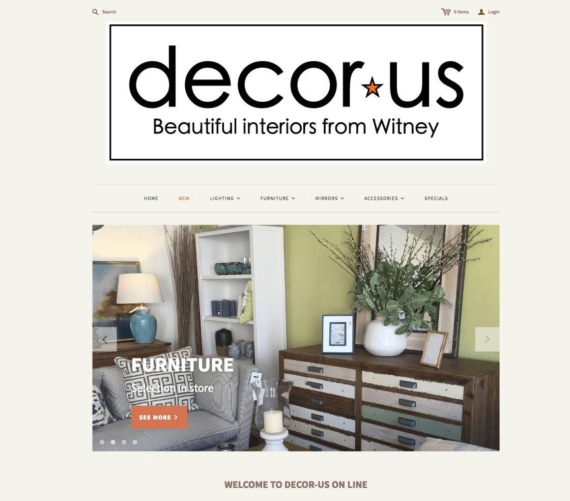 Decorus Homepage