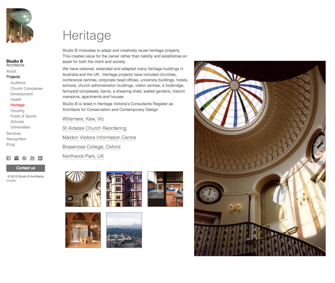 Studio B Heritage