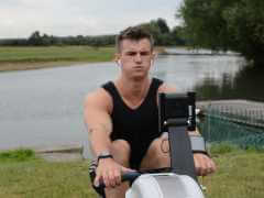Sonic Active rowing on an erg